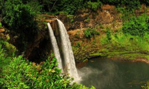 カウアイ島 ワイルア滝